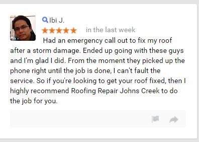 johns creek roof repair